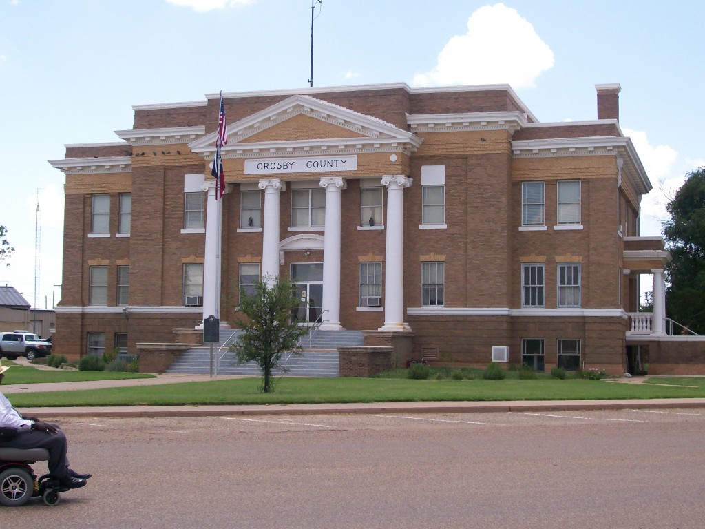 Crosby County Courthouse - Crosbyton Chamber