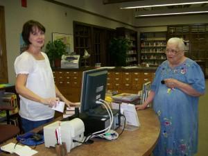 Crosbyton Library-Chamber