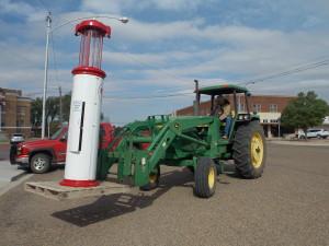 Gas Pump-Farm & Ranch Museum-Crosbyton Chamber